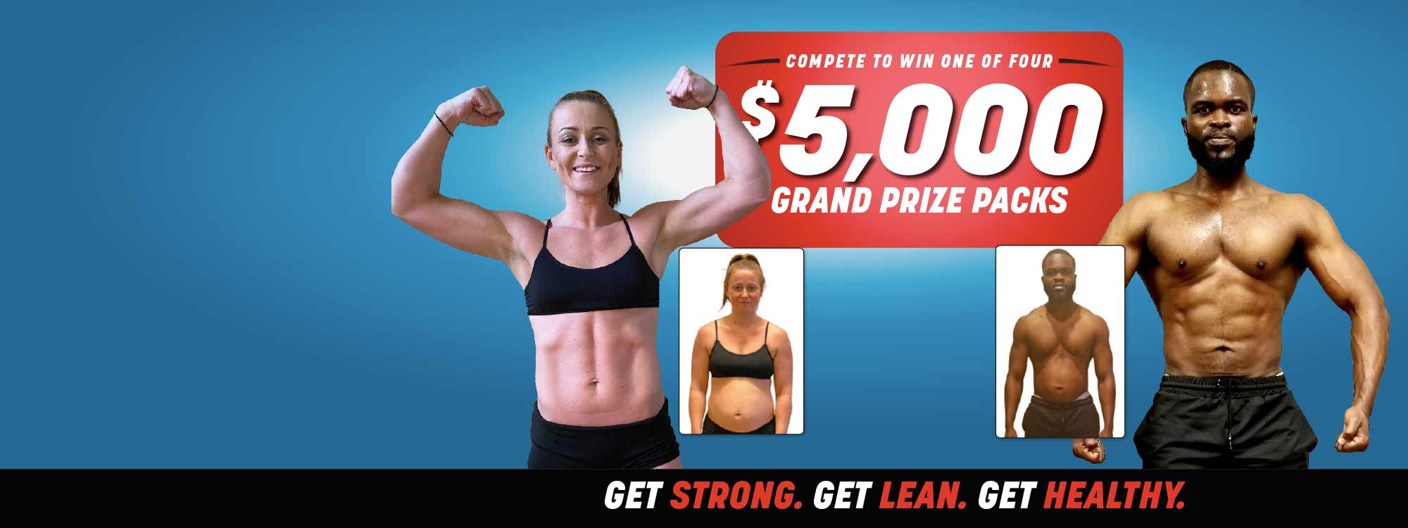 Get Fit Challenge $5,000 Prize Package