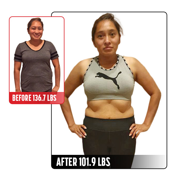 30-Day Challenge Women's Weight Loss Grand Prize Winner Before and After Images