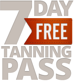 FREE 7 Day Tanning Pass