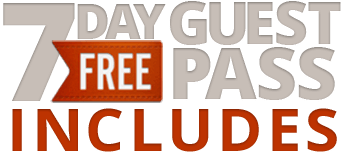 FREE 7 Day Guest Pass Includes