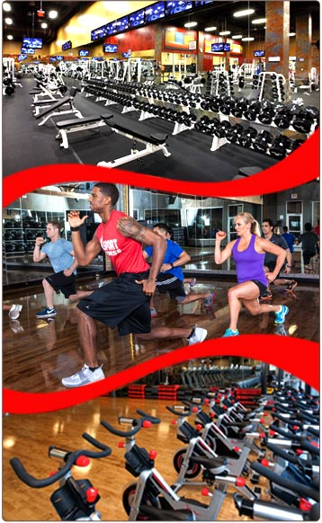 XSport Fitness Become a Member