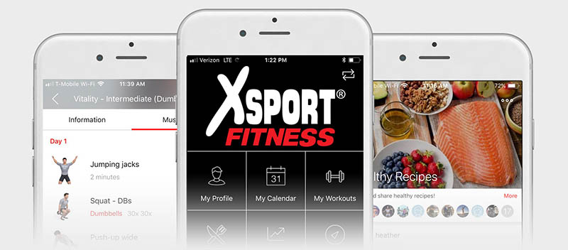 gym membership and amenities | xsport fitness