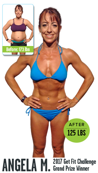 2017 Get Fit Challenge Grand Prize Winner Before and After images