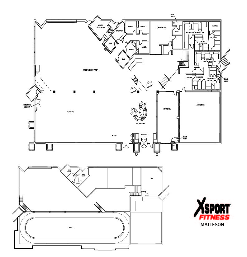 mat floor plan