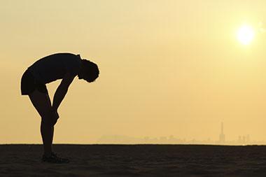 running silhouette