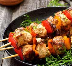 protein kebabs