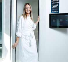woman in cryo booth