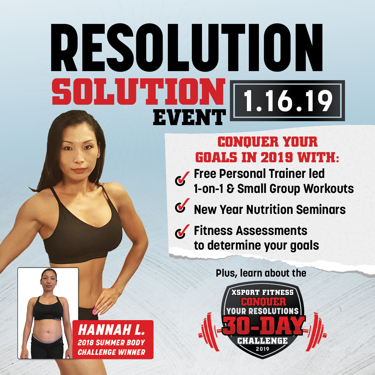 schedule my free personal training session