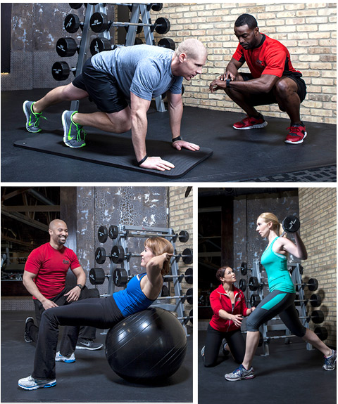 Contact a Personal Trainer to Start a customized program