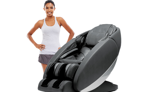 human touch massage chair full image