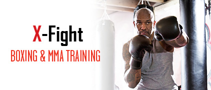 Get Fit to Fight in X-Fight - Boxing and MMA