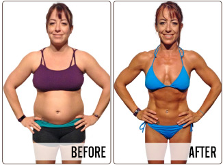 Success Stories - Angela - Before and After