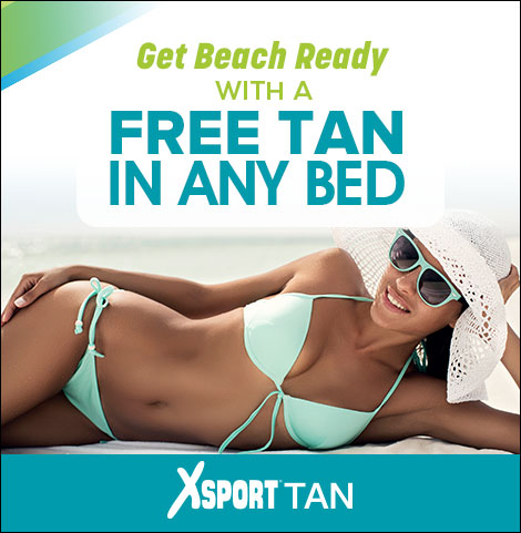Enjoy 1 free tan in any bed